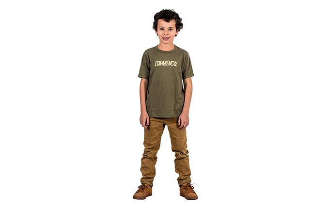 T-SHIRT CORPORATE MILITARY GREEN KIDS