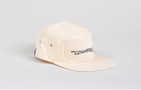 CASQUETTE COMMENCAL 5 PANELS OFF WHITE