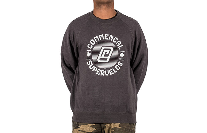 CREWNECK CHIP GREY