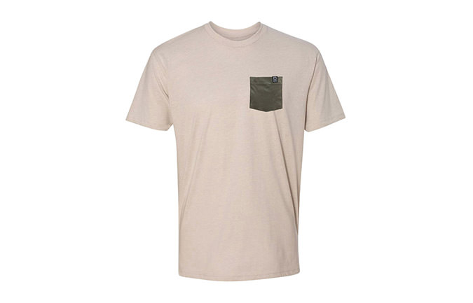 TEE-SHIRT BASIC SAND / GREEN  2018