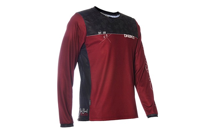 MAILLOT MANCHES LONGUES DHARCO MENS GRAVITY JERSEY - KYLE STRAIT