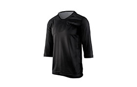 MAILLOT MANCHES 3/4 100% AIRMATIC BLACK