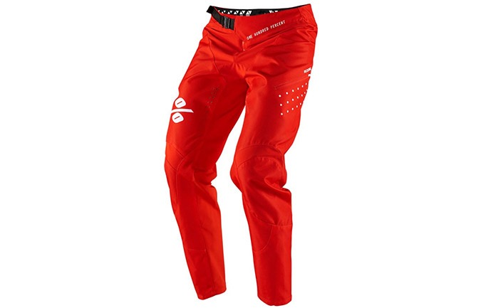 PANTALON 100% KID R-CORE SUPRA DH  RED