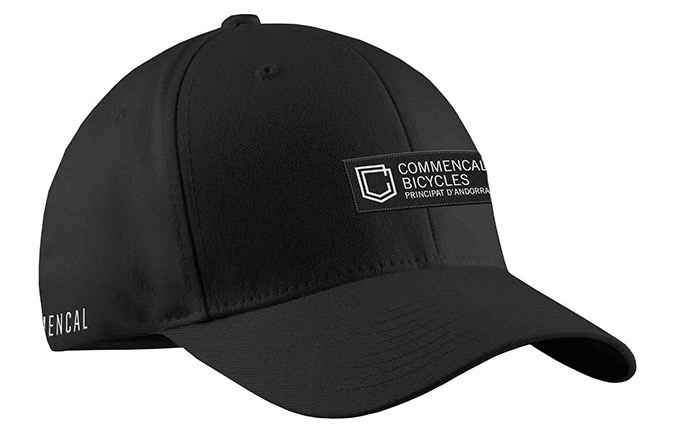 CASQUETTE COMMENCAL VISIERE INCRUVEE SHIELD BLACK 2019