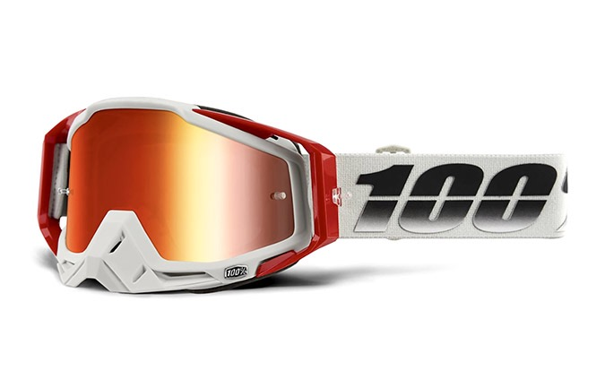 MASQUE 100% RACECRAFT SUEZ - MIRROR LENS
