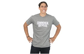 T-SHIRT COMMENCAL GREY