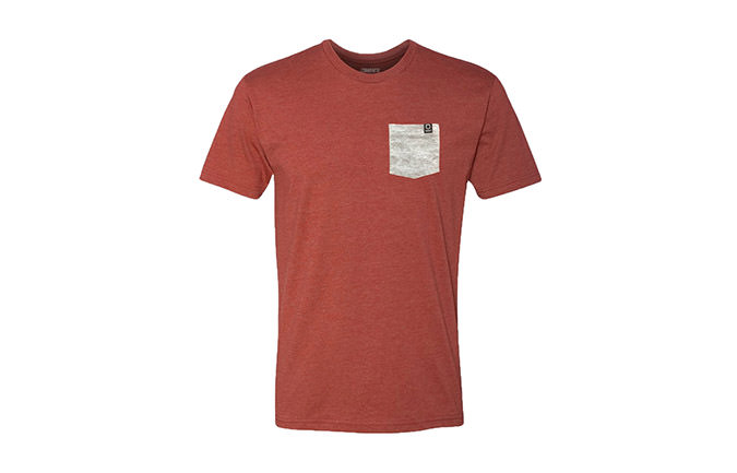 TEE-SHIRT BASIC RED / GREY  2018