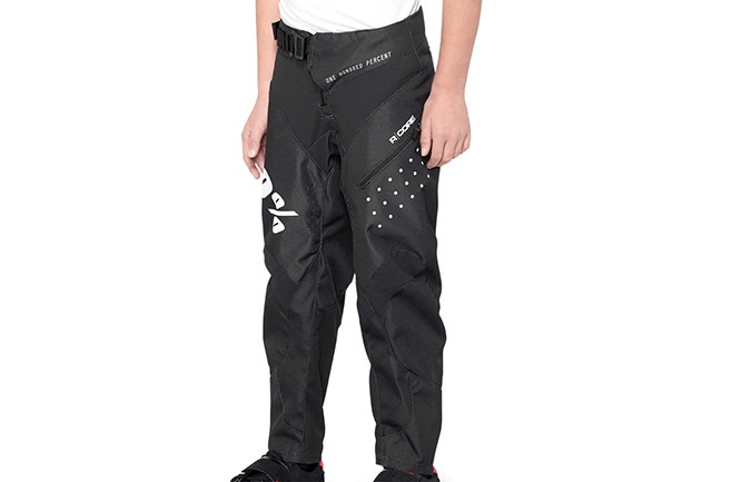 PANTALON 100% KID R-CORE SUPRA DH  BLACK