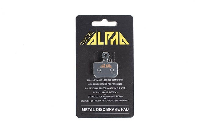 PLAQUETTES METALLIQUES RIDE ALPHA AVID LEVEL DB1/DB3/DB5 2016