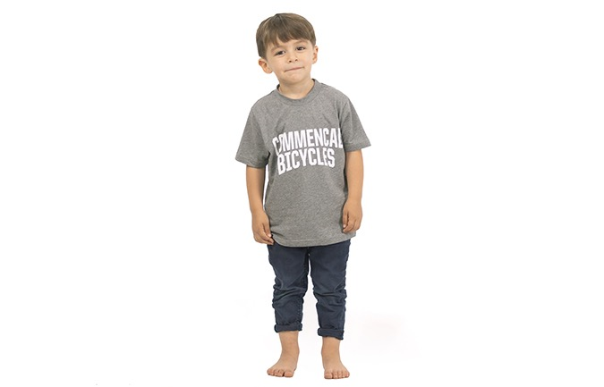 T-SHIRT COMMENCAL KID GREY
