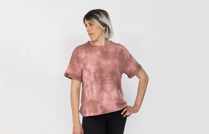 T-SHIRT COMMENCAL TIE & DYE WOMEN