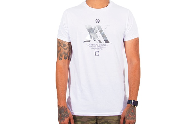 T-SHIRT COMMENCAL XX EDITION