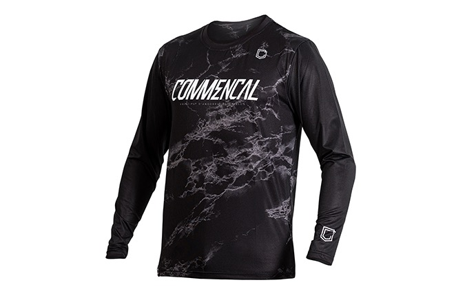 MAILLOT MANCHES LONGUES COMMENCAL BLACK