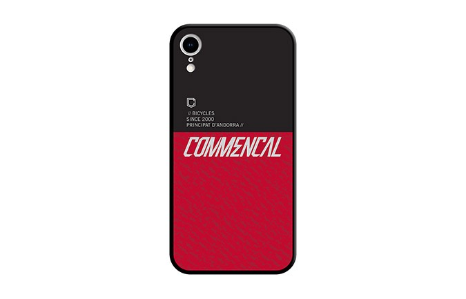 COQUE COMMENCAL IPHONE XR RED 2019