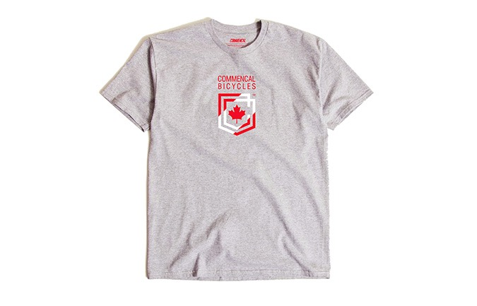 T-SHIRT MANCHES COURTES COMMENCAL SHIELD CANADA 2019