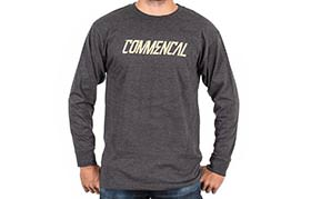 T-SHIRT LONG SLEEVE CORPORATE CHARCOAL
