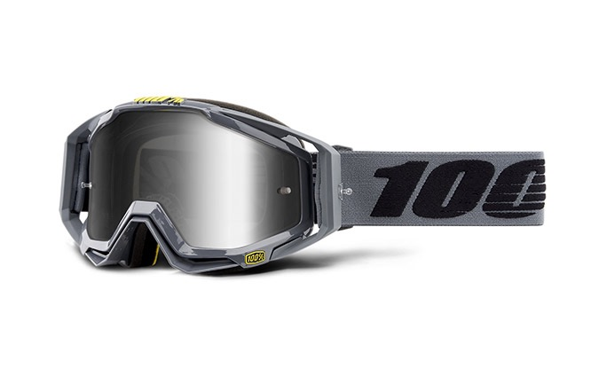 MASQUE 100% RACECRAFT NARDO - MIRROR SILVER LENS