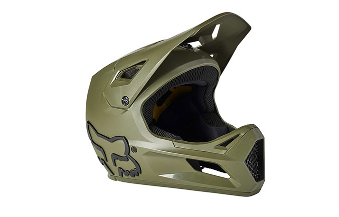 CASQUE FOX ENFANT RAMPAGE OLIVE GREEN