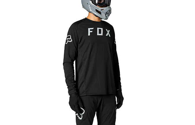 MAILLOT MANCHES LONGUES FOX DEFEND BLACK
