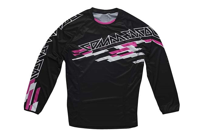 MAILLOT MANCHES LONGUES ENDURO ROSE 2015