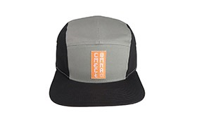 CASQUETTE COMMENCAL 5 PANELS BLACK GREY