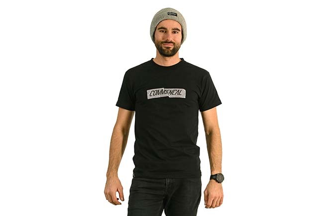T-SHIRT COMMENCAL BLACK 2020