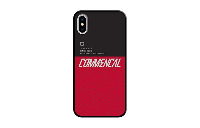 COQUE COMMENCAL IPHONE 10 RED 2019