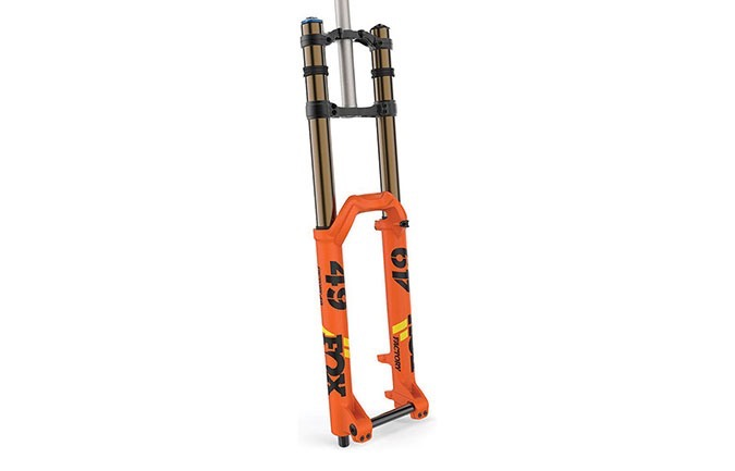 FOURCHE FOX 49 FLOAT FACTORY KASHIMA GRIP 2 BOOST 2019 ORANGE