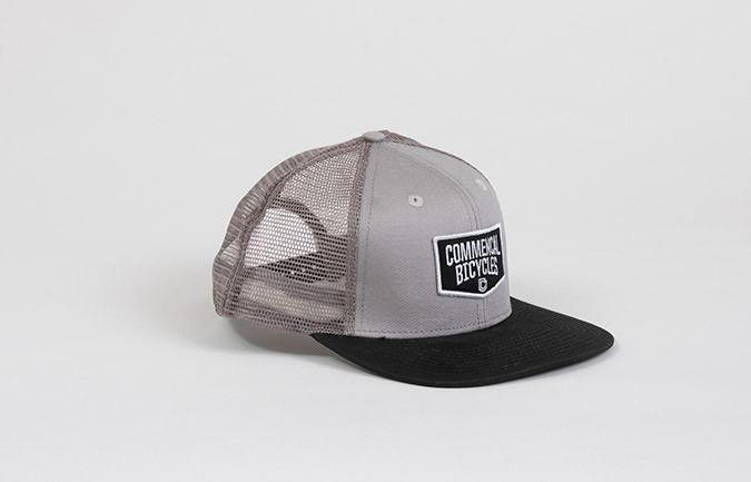 CASQUETTE COMMENCAL TRUCKER  GREY