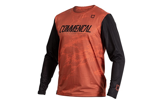 MAILLOT MANCHES LONGUES COMMENCAL OCHRE