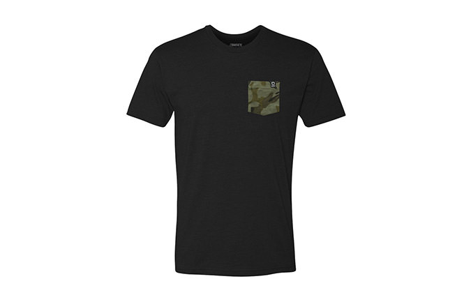 TEE-SHIRT BASIC BLACK / CAMO  2018