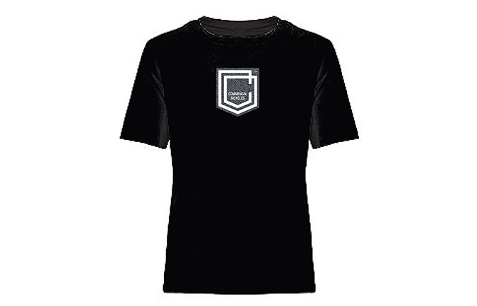 T-SHIRT COMMENCAL KID SHIELD BLACK 2019