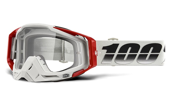 MASQUE 100% RACECRAFT SUEZ - CLEAR LENS