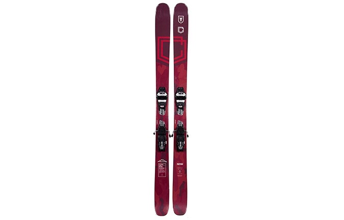 SKIS COMMENCAL META 170 + FIXATIONS MARKER GRIFFON 13 ID BLACK