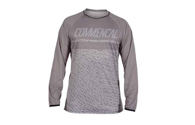 MAILLOT MANCHES LONGUES COMMENCAL GREY 2019