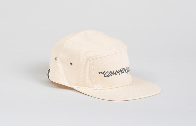 CASQUETTE COMMENCAL 5 PANELS OFF WHITE 2020