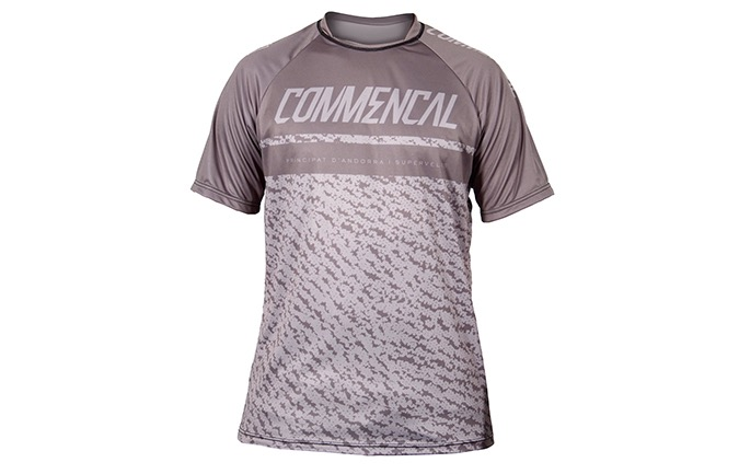 MAILLOT MANCHES COURTES COMMENCAL GREY 2019