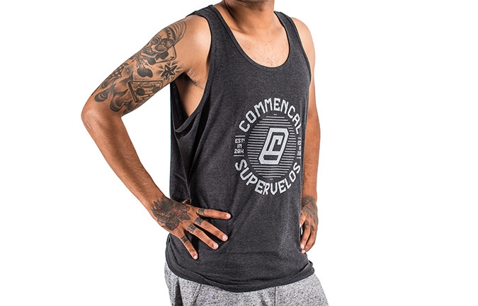 TANK TOP CHIP GREY