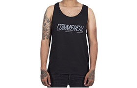TANK TOP COMMENCAL CORPORATE BLACK 2019
